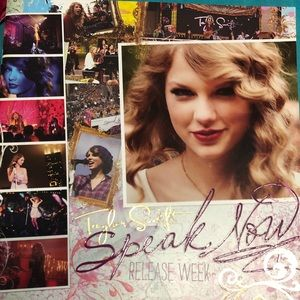 Taylor Swift Speak Now book